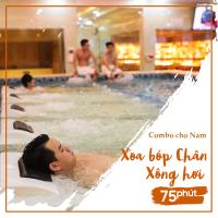 Combo 2 cho Nam - Xoa bóp Chân 75 Phút + Xông Hơi